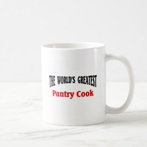Le plus grand cuisinier de l'office du monde tasse
