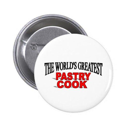 Le plus grand cuisinier de pâtisserie du monde badge