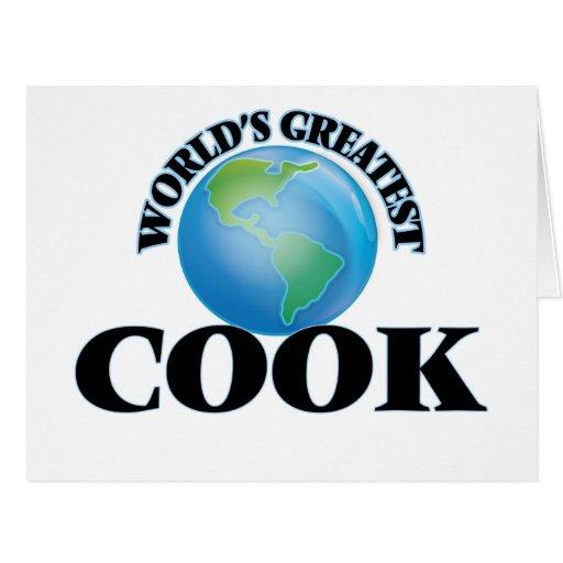 Le plus grand cuisinier du monde carte de vœux