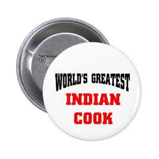 Le plus grand cuisinier indien du monde pin's avec agrafe