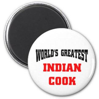 Le plus grand cuisinier indien du monde aimants