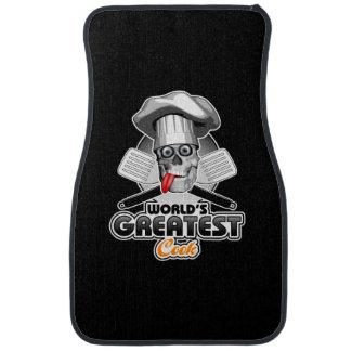 Le plus grand cuisinier v3 du monde tapis de voiture