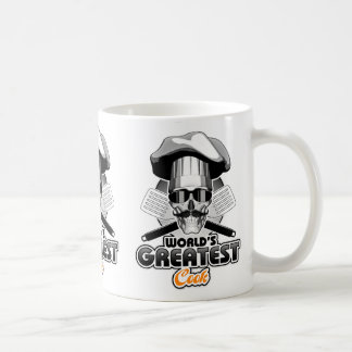 Le plus grand cuisinier v4 du monde mug blanc