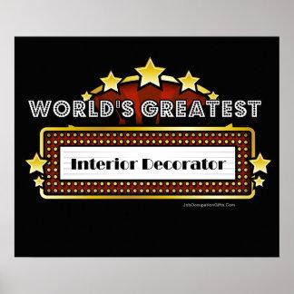 Le plus grand décorateur intérieur du monde affiche