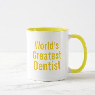 Le plus grand dentiste des mondes tasses