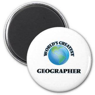 Le plus grand géographe du monde aimant pour réfrigérateur