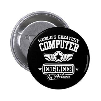 Le plus grand ingénieur informaticien du monde badge