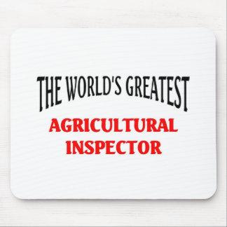 Le plus grand inspecteur agricole du monde tapis de souris