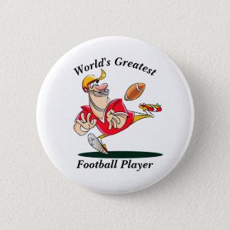 Le plus grand joueur de football du monde badges