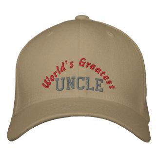 Le plus grand oncle du monde casquette brodée