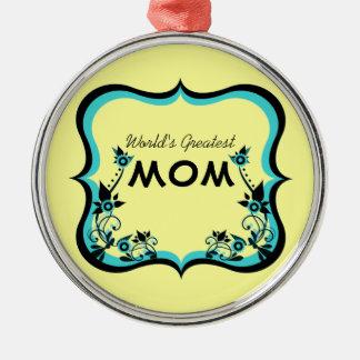 Le plus grand ornement de la maman du monde floral