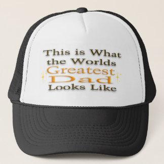 Le plus grand papa - casquette de fête des pères