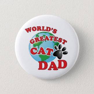Le plus grand papa de chat des mondes avec badge