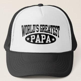 Le plus grand papa du monde casquette