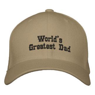 Le plus grand papa du monde casquette brodée