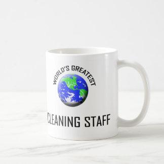 Le plus grand personnel de nettoyage du monde mug