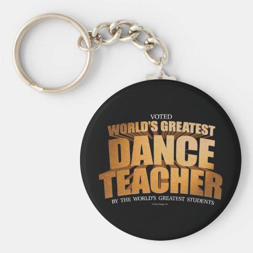 Le plus grand professeur de la danse du monde porte-clé