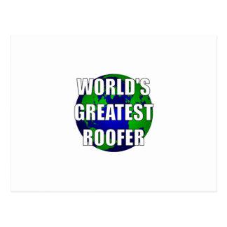 Le plus grand Roofer du monde Cartes Postales