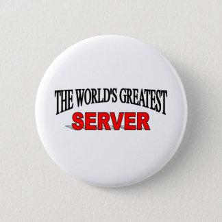 Le plus grand serveur du monde pin's