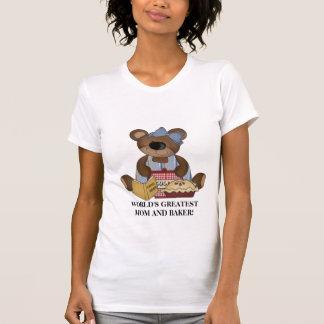 Le plus grand T-shirt de la maman et du Baker du