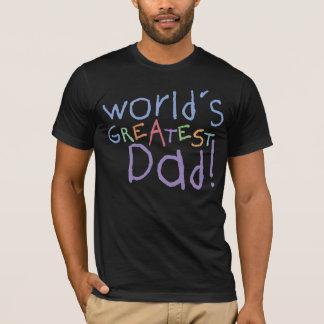 Le plus grand T-shirt de papa d'enfants