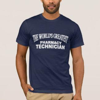 Le plus grand technicien de la pharmacie du monde t-shirt