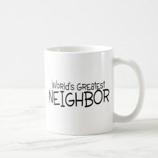 Le plus grand voisin des mondes mug blanc