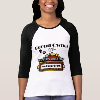 Le plus grand whippet du monde fier de t-shirt