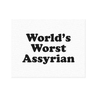 Le plus mauvais Assyrien du monde Toile