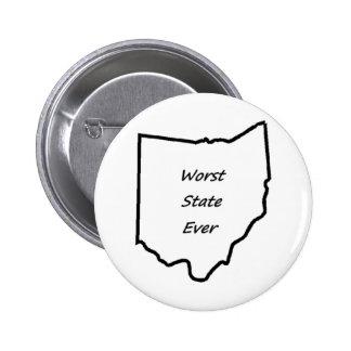 Le plus mauvais état de l'Ohio jamais Badge