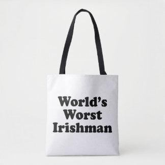 Le plus mauvais Irlandais du monde Tote Bag