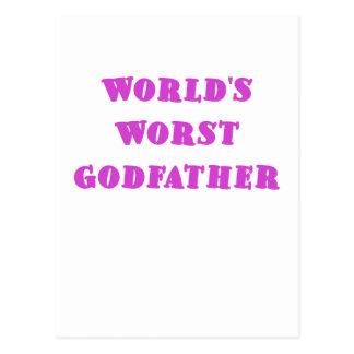 Le plus mauvais parrain des mondes cartes postales