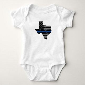 Le policier du Texas amincissent Blue Line Body