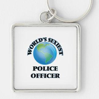 Le policier le plus sexy du monde porte-clés