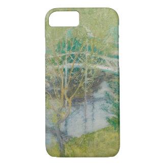 Le pont blanc, c.1895 (huile sur la toile) coque iPhone 7