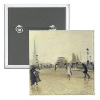 Le Pont Corneille, Rouen, 1891 Pin's