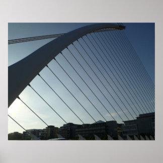 Le pont de Samuel Beckett, Dublin Posters