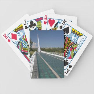 Le pont en cadran solaire à la baie de tortue cartes à jouer