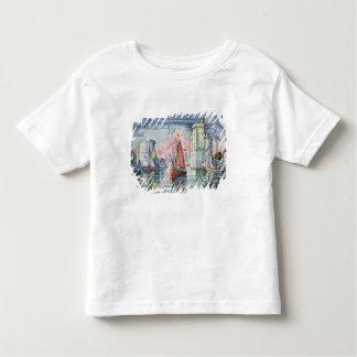 Le port à La Rochelle, 1921 T-shirt Pour Les Tous Petits