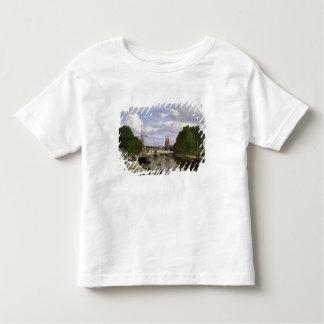 Le port à Quimper, 1857 T-shirt Pour Les Tous Petits