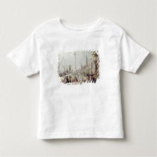 Le port antique d'Anvers T-shirt Pour Les Tous Petits