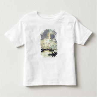 Le port, c.1895 (huile sur le panneau) t-shirt pour les tous petits