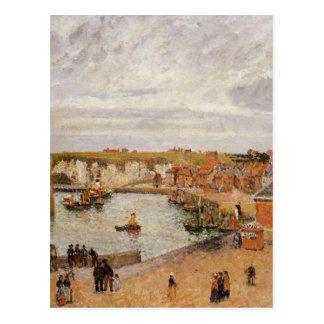 Le port de Dieppe par Camille Pissarro Carte Postale