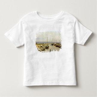 Le port de Dragor, 1826 T-shirt Pour Les Tous Petits