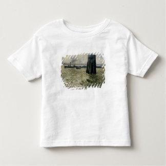 Le port de Hambourg, 1894 T-shirt Pour Les Tous Petits
