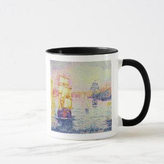 Le port de Marseille, c.1909 (huile sur la toile) Mug