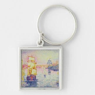 Le port de Marseille, c.1909 (huile sur la toile) Porte-clés