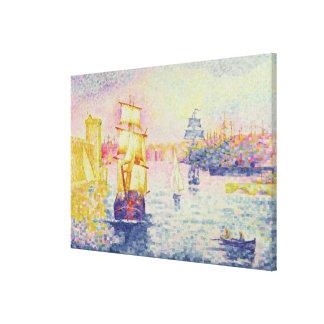 Le port de Marseille, c.1909 (huile sur la toile) Toiles