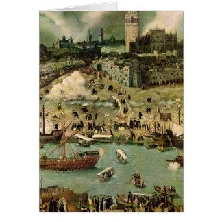 Le port de Séville, c.1590 Cartes
