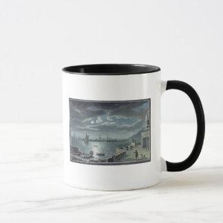 Le port et le Cobb, Lyme REGIS par clair de lune Mug